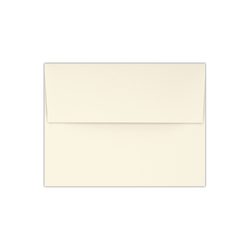 "LUX Foil-Lined Invitation Envelopes With Peel & Press Closure, A4, 4 1/4"" x 6 1/4"", Natural/Black, Pack Of 500"