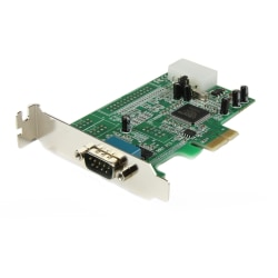 StarTech.com 1-Port Low Profile Native RS232 PCI Express Serial Card With 16550 UART