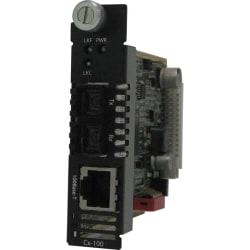 Perle CM-100-S2SC80 Fast Ethernet Media Converter - 1 x Network (RJ-45) - 1 x SC Ports - 100Base-TX, 100Base-ZX - Internal