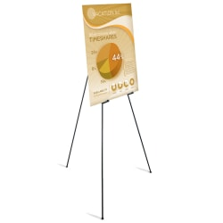 Office Depot® Brand Instant Display Easel, Full Size, Black