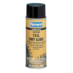 Sprayon® T.F.E. Dry Lube, 10 Oz, Case Of 12 Cans