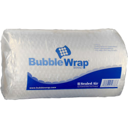 """Sealed Air Bubble Wrap Multi-purpose Material - 12"""" Width x 30 ft Length - 1 Wrap(s) - Lightweight, Perforated - Clear"""