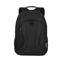 "Wenger® Mercury Backpack With 16"" Laptop Pocket, Black"