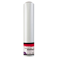 "Office Depot® Brand Sketch Roll, 12"" x 150', White"