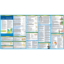 """ComplyRight™ All In One Safety Poster, English, 18"""" x 24"""""""