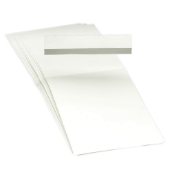 "Smead® Blank Hanging File Folder Tab Inserts, 1/3 Cut For 3 1/2"" Tabs, Box Of 100"