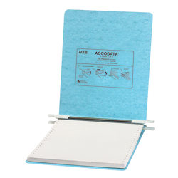 "Wilson Jones® Presstex® Pressboard Data 3-Ring Binder, 1"" Round Rings, 41% Recycled, Light Blue"