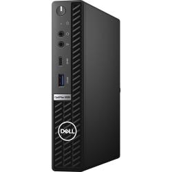 Dell OptiPlex 5000 5080 Desktop Computer - Intel Core i5 10th Gen i5-10500T Hexa-core 6 Core 2.30 GHz - 8 GB RAM DDR4 SDRAM - 256 GB SSD - Micro PC - Black - Windows 10 Pro 64-bit - Intel UHD Graphics 630 DDR4 SDRAM - English Keyboard