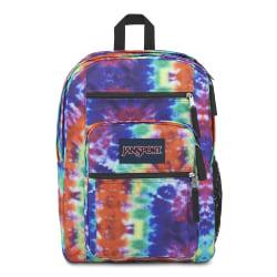 "JanSport® Big Student Backpack With 15"" Laptop Pocket, Hippie Days"