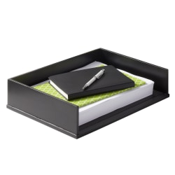 Victor® Midnight Black Collection Stacking Letter Tray