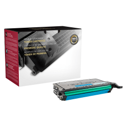 Clover Imaging Group™ Remanufactured High-Yield Cyan Toner Cartridge Replacement For Samsung CLT-C508L / CLT-C508S