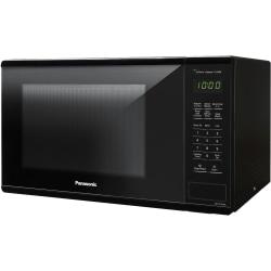 "Panasonic 1.3 Cu. Ft. 1100W Countertop Microwave Oven - Black -NN-SU656B - Single - 9.72 gal Capacity - Microwave - 3 Power Levels - 1100 W Microwave Power - 12.40"" Turntable - Glass - Countertop - Black"