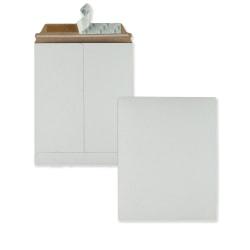 "Quality Park™ Redi-Strip 64014 Photo/Document Mailers, 9"" x 11 1/2"", White, Box Of 25"