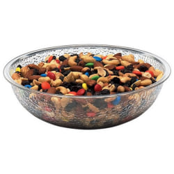 "Cambro Camwear Pebbled Bowl, 8"", Clear"