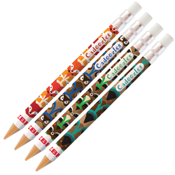 Zebra® Cadoozles Mechanical Pencils, 0.9 mm, Multicolor Barrels, Pack Of 10