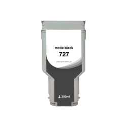Clover Imaging Group Wide Format - 300 ml - High Yield - matte black - compatible - ink cartridge (alternative for: HP 727) - for HP DesignJet T1500, T1530, T2500, T2530, T920, T930