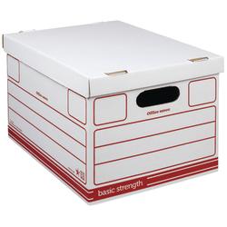 Office Depot Storage Bo Redwhite 10