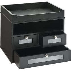 Victor® Midnight Black Collection Tidy Tower Organizer