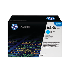 HP 643A, Cyan Original Toner Cartridge (Q5951A)