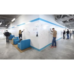 """IdeaPaint™ CREATE WHITE Dry-Erase Paint, 60"""" x 60"""""""