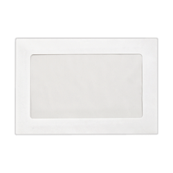 """LUX Full-Face Window Envelopes With Moisture Closure, #6 1/2, 6"""" x 9"""", Bright White, Pack Of 500"""