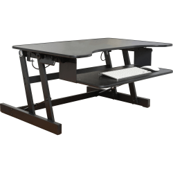 Lorell™ Sit-To-Stand Desk Riser, Black
