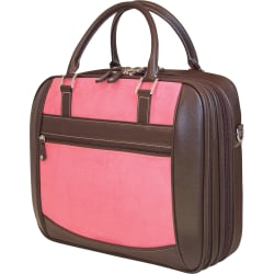 "Mobile Edge for Her 16"" PC/17"" Mac ScanFast Element Briefcase, Pink"