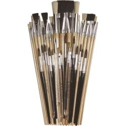 Creativity Street Colossal Crafts Brush Assortment - 1 Brush(es) - Aluminum Ferrule