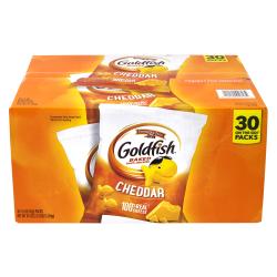 Pepperidge Farms Goldfish Baked Snack Cracker Packs, 1.5 Oz, Box Of 30