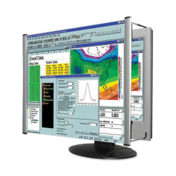 """Kantek Lcd Monitor Magnifier Fits 15in Monitors - Magnifying Area 13.13"""" Width x 10.50"""" Length - Overall Size 11"""" Height x 14.8"""" Width"""