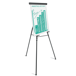 Office Depot® Brand Heavy Duty Presentation Easel, Black