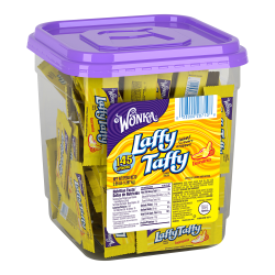 Laffy Taffy Tub, Banana, 48 Oz