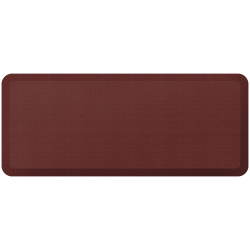"GelPro NewLife Designer Comfort Grasscloth Anti-Fatigue Floor Mat, 20"" x 48"", Crimson"