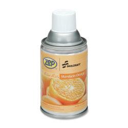 SKILCRAFT® Zep® Meter Mist Air Freshener Refill, 7 Oz., Mandarin Orange, Pack Of 12 (AbilityOne 6840-01-459-8263)