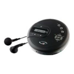 GPX PC332B CD Player - Black - LCD - CD-DA