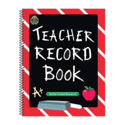 Teacher Created Resources Chalkboard Teacher Record Books, Pack Of 5