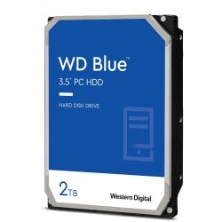 Western Digital® Blue 2TB Internal Hard Drive For Desktops, 64MB Cache, SATA/600, WD20EZRZ