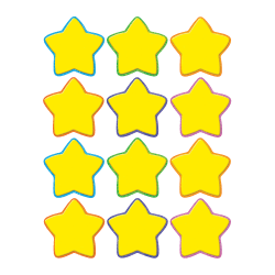 Teacher Created Resources Mini Accents, Stars, Yellow, Pack Of 36