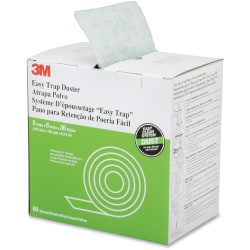 "SKILCRAFT® Easy Trap Disposable Mop Duster Sheets, 5"" x 6"", 60 Per Roll (AbilityOne 7920-01-598-9091)"