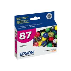 "Epson® 87, (T087320) UltraChrome™ ""Hi-Gloss® 2"" Magenta Ink Cartridge"