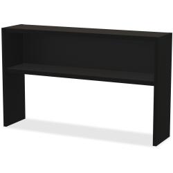 "WorkPro® Modular 60""W Stack On Hutch, Black"