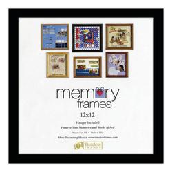"Timeless Frames Anna Memory Frame, 12"" x 12"", Black"