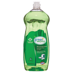 Green Works® Natural Dishwashing Liquid, 38 Oz Bottle