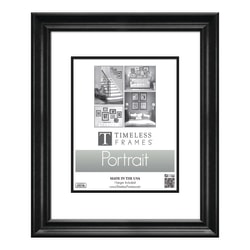 """Timeless Frames Lauren Photo/Document Frame, 16"""" x 20"""", Black"""