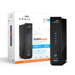 ARRIS SURFboard SBG7600AC2 DOCSIS 3.0 Cable Modem And Wi-Fi Router With McAfee Protection, 1000887