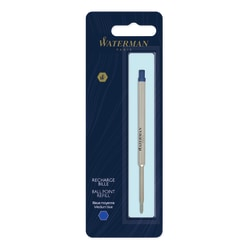 Waterman® Ballpoint Pen Refill, Medium Point, 0.7 mm, Blue