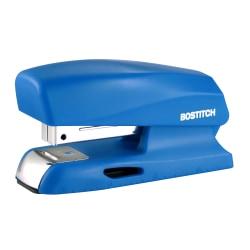 "Bostitch® Office Half-Strip Compact Stapler, 1-3/4"", Blue"