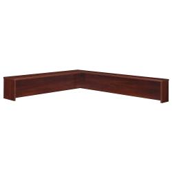 Bush Business Furniture Components Reception L Shelf, Hansen Cherry/Graphite Gray, Standard Delivery