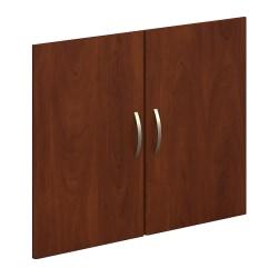 Bush Business Furniture Components Half-Height 2 Door Kit, Hansen Cherry, Standard Delivery