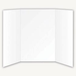 """Flipside Foam Project Boards, 36""""H x 48""""W x 1/8""""D, White, Pack Of 10"""